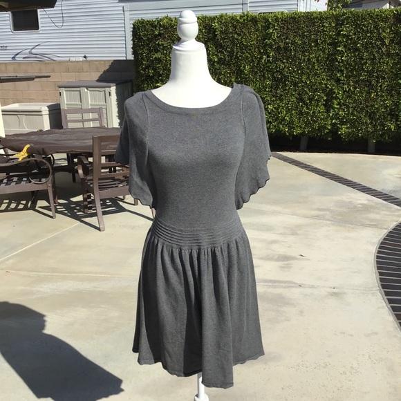 Ella Moss Dresses Ella Moss Gray Short Sleeve Dress Poshmark